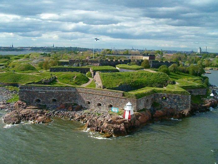 Крепость Суоменлинна в Финляндии (10 фото)
