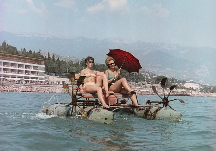 Лучшие места отдыха в Советском Союзе (12 фото)