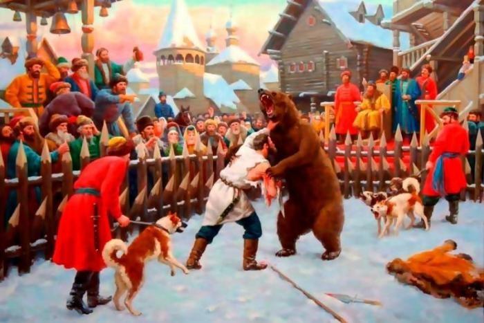 Почему одним из символов России является медведь (5 фото)