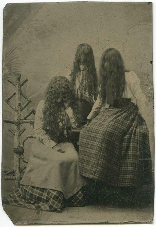 Жуткие фотографии из прошлого (15 фото)