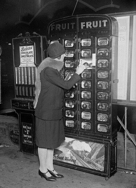 Автоматы по продаже чего угодно из прошлого (15 фото)