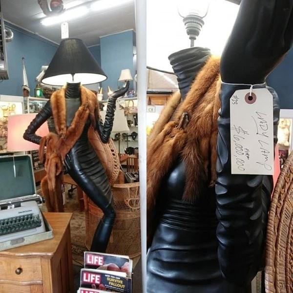 Подборка странных находок с барахолок (10 фото)
