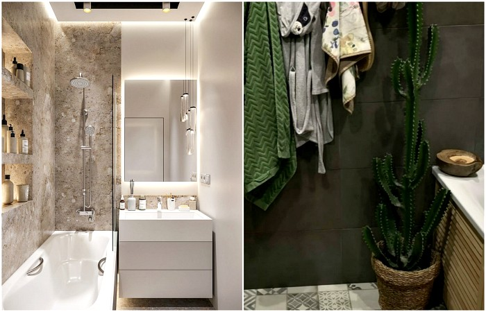 Как обустроить маленькую ванную: советы специалистов (11 фото)