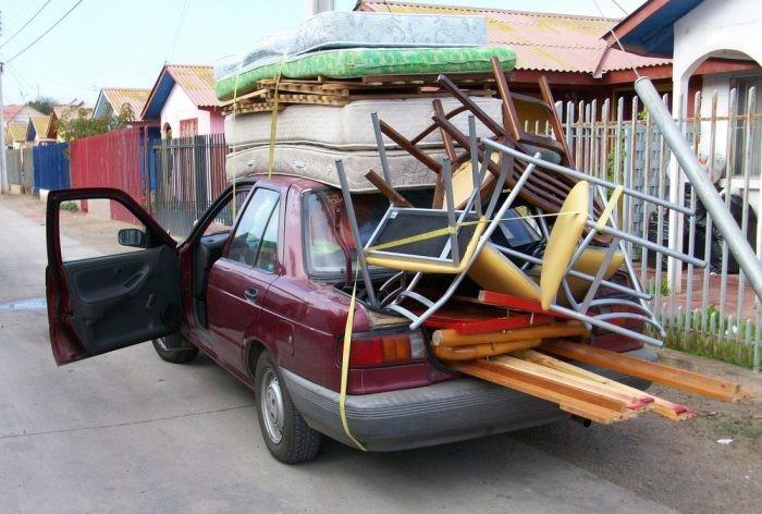 Вещи, которые не стоит возить в багажнике (6 фото)