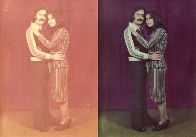 Старинные фотографии, которые умельцы смогли восстановить (15 фото)