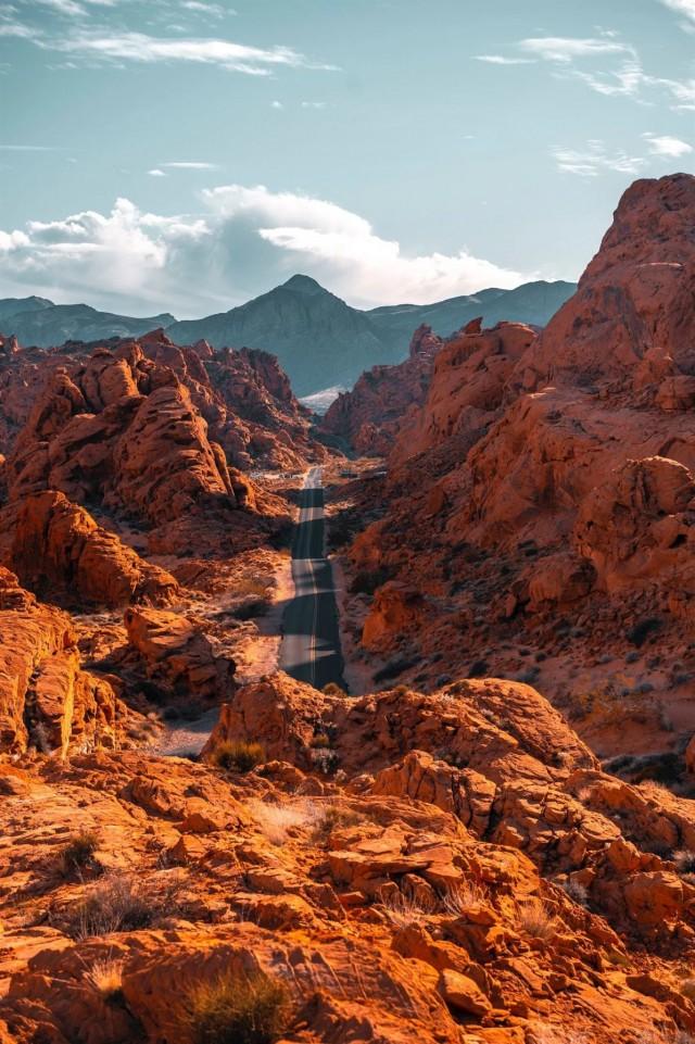 Долина Огня в Неваде (10 фото)