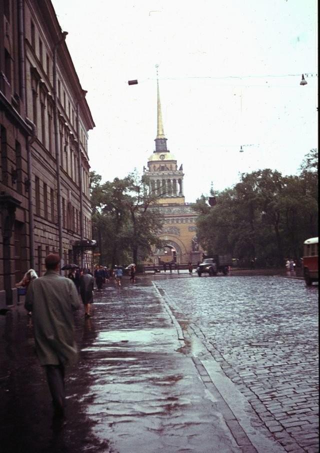 Интересные исторические фотографии Ленинграда (10 фото)
