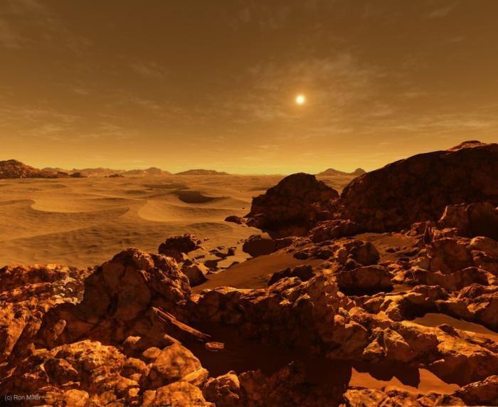 Рассвет на других планетах (9 фото)