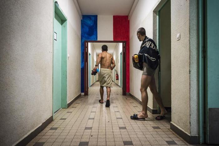 Один день из жизни французского новобранца (14 фото)
