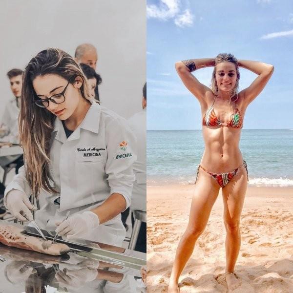 MedBikini - девушки-медики в бикини (27 фото)