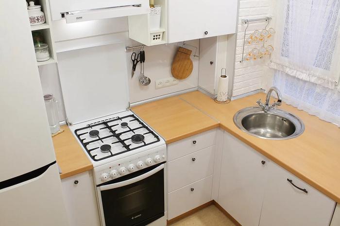 Плюсы белой кухни (9 фото)