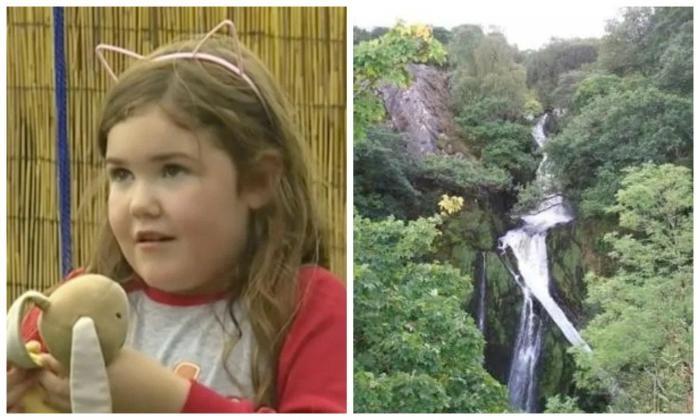 Девочка выжила после падения с 30-метрового водопада (4 фото)