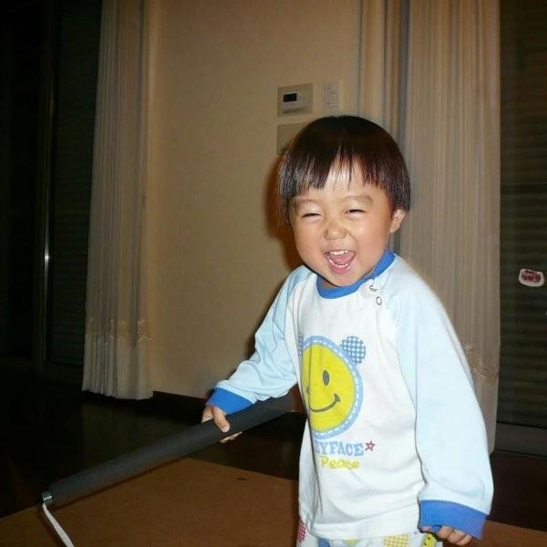 10-летний мальчик из Японии, которого можно считать Брюсом Ли (6 фото)