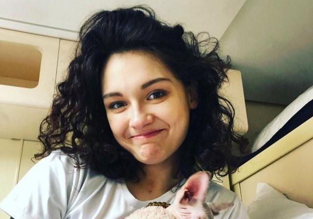 Дочь Любови Толкалиной и Егора Кончаловского - Мария (8 фото)