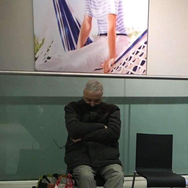 Мучительное ожидание мужчин на шопинге (18 фото)