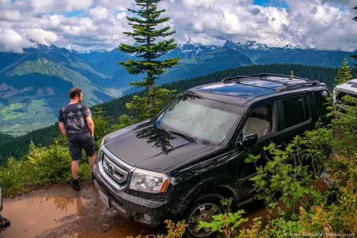 Путешествие по горной Канаде (31 фото)