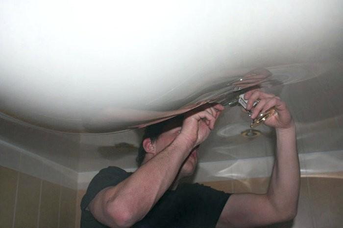 Когда лучше отказаться от установки натяжных потолков (7 фото)