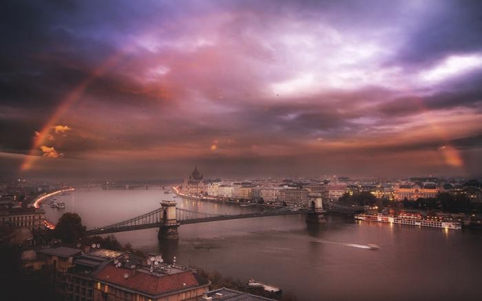 25 великолепных снимков Будапешта с высоты (26 фото)
