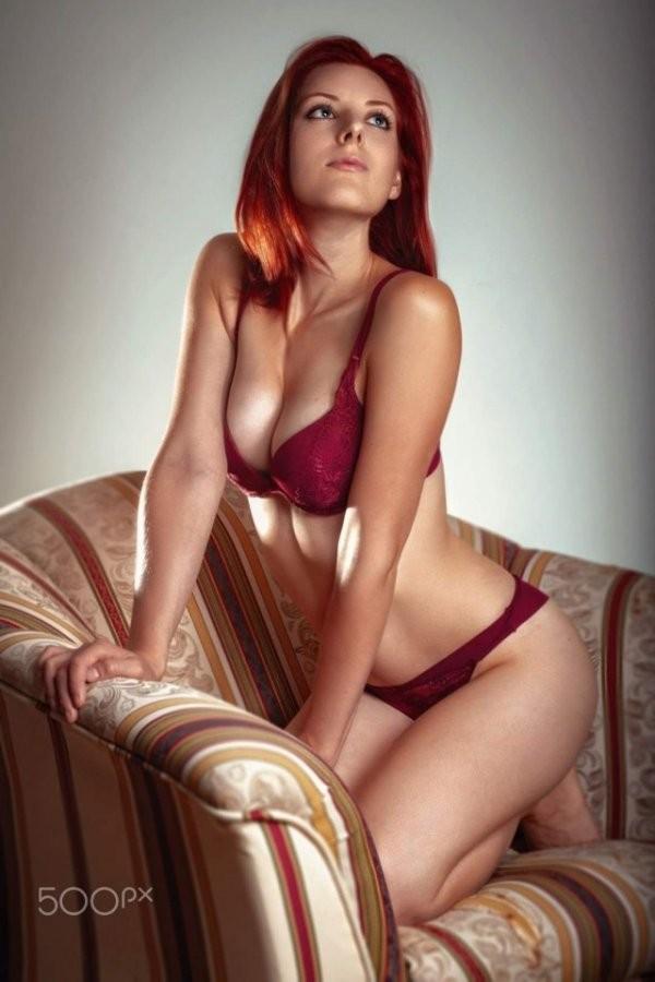 Рыжие девушки (14 фото)