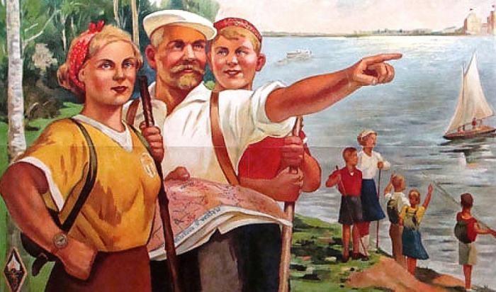 Как доставался заветный значок отличия для туристов в СССР (9 фото)