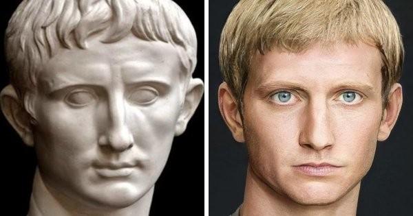 Внешность великих римских императоров восстановили (20 фото)