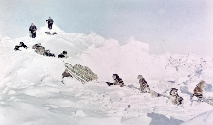 Обреченная экспедиция, которую спасла смелость (21 фото)