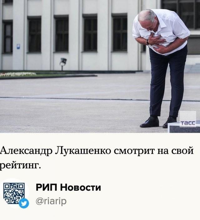 Пользователи Сети шутят над протестами в Беларуси (6 фото)