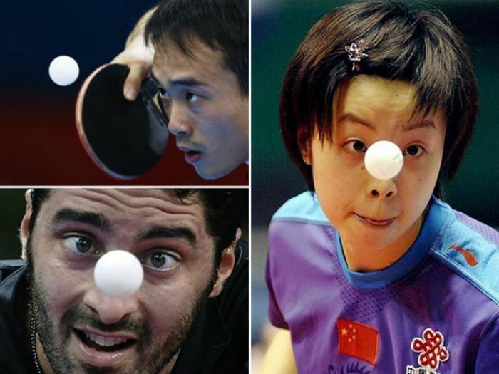 Игроки в пинг-понг превращаются в заклинателей мяча (11 фото)