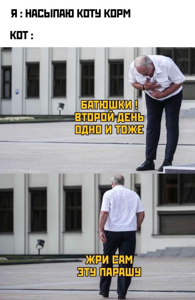 Пользователи продолжают делать мемы про Александра Лукашенко (11 фото)