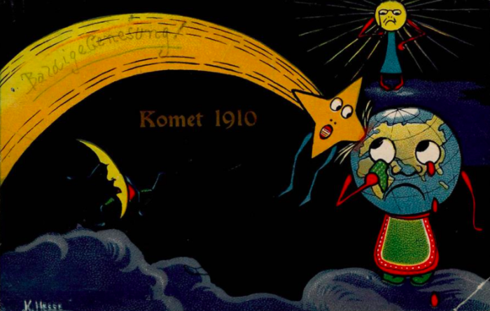 Как человечество готовилось к концу света в 1910 году (6 фото)