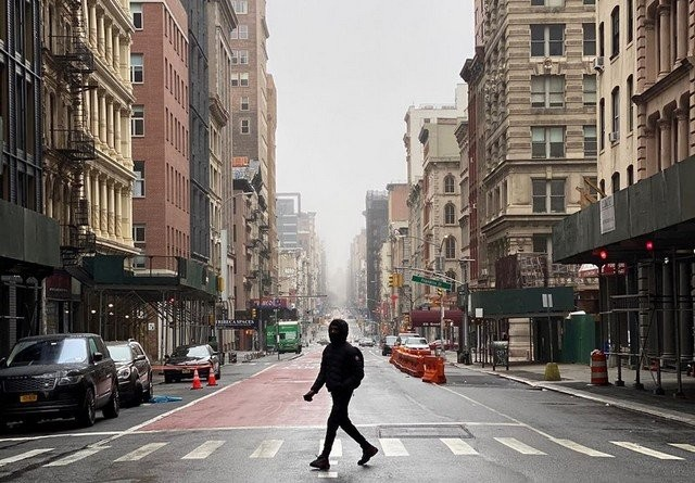 Атмосферные фотогрфии Нью-Йорка - города (11 фото)