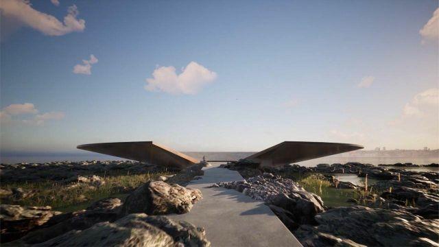 В Уругвае показали проект первого в мире мемориала COVID-19 (6 фото)