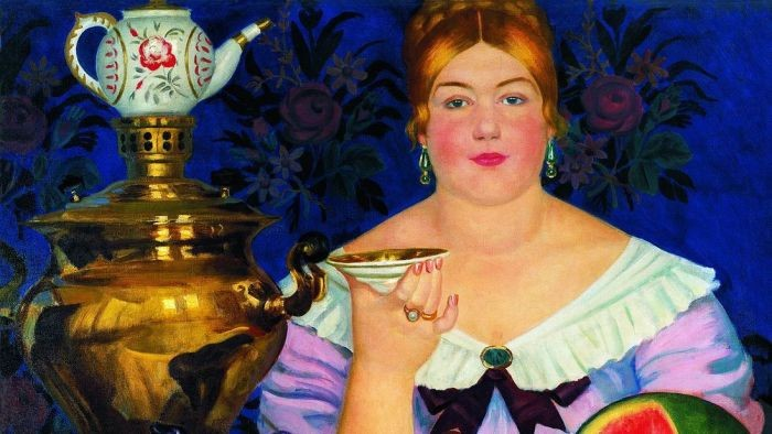 История традиции чаепития на Руси (6 фото)