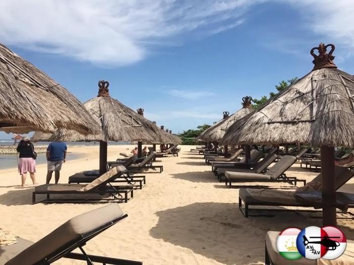 Никки Бич в Нуса-Дуа: лучший пляж на Бали! (6 фото)