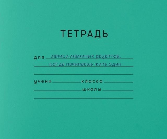 Школьные тетради из взрослой жизни (10 фото)