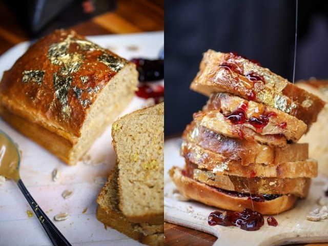 Самый дорогой сэндвич с арахисовым маслом за 350 долларов (2 фото)