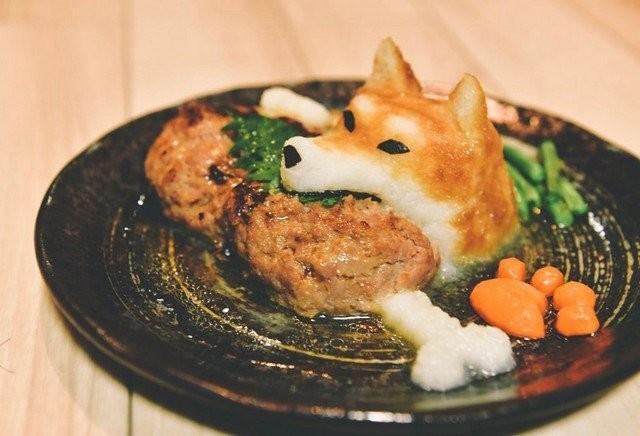 Необычная подача блюд японского художника (12 фото)