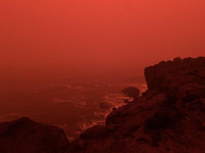 Это не апокалипсис, это дым от лесных пожаров в штате Орегон (15 фото)
