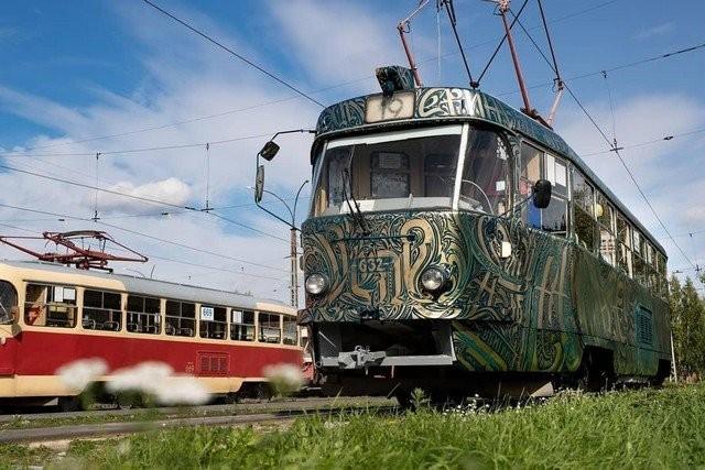 Новый взгляд на русский трамвай (10 фото)