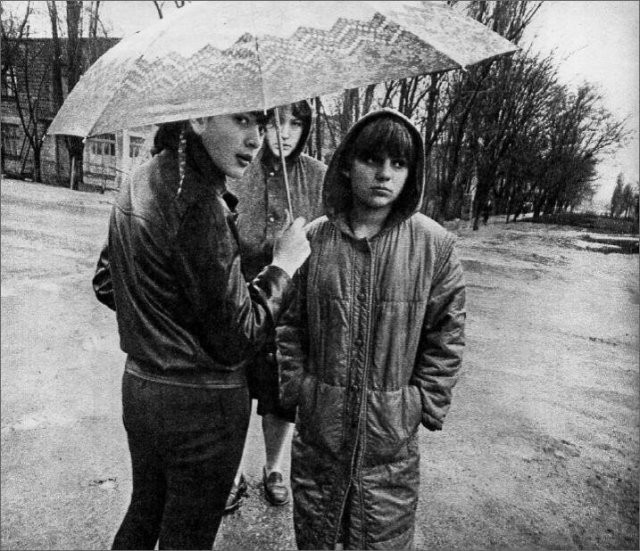 Атмосферные фотографии: осень в СССР (15 фото)