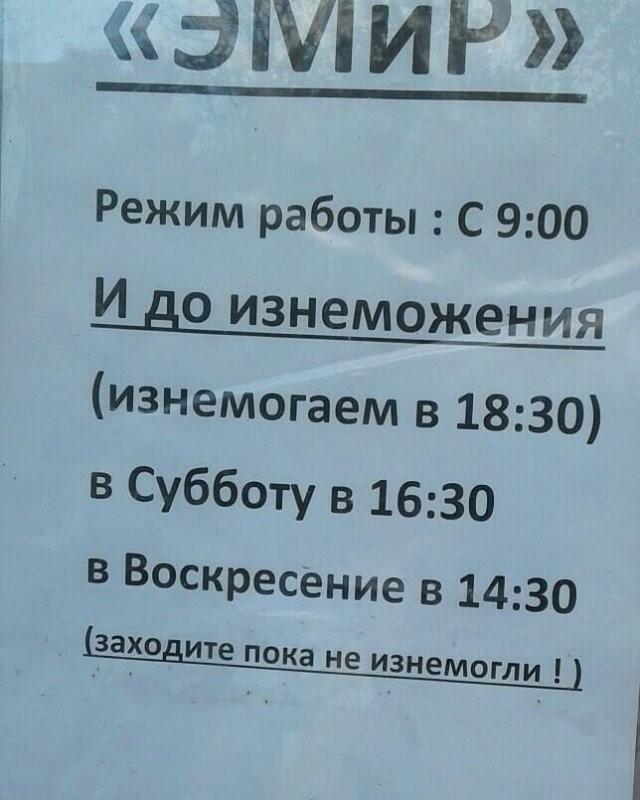 Смешные объявления с российских улиц (15 фото)