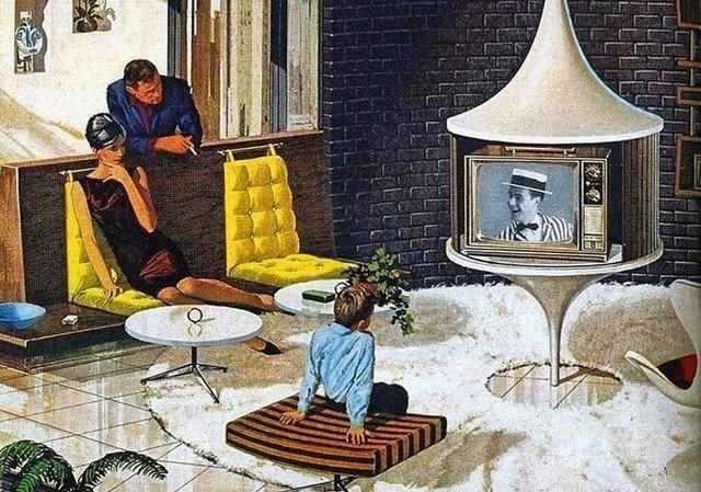Будущее, которое предрекали нам футуристические художники (13 фото)