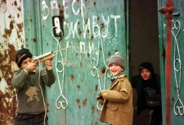 Детство детей 1990-х (16 фото)