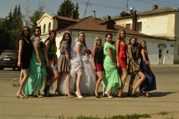 Смешные и очень колоритные фотографии со свадеб (25 фото)
