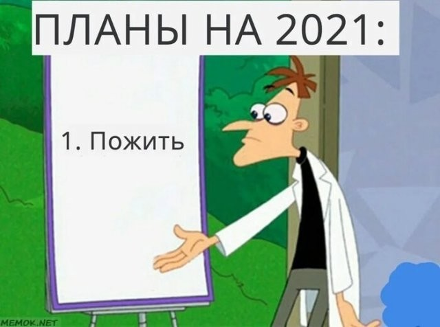 Пользователи социальных сетей шутят о том, каким будет 2021 год (15 фото)