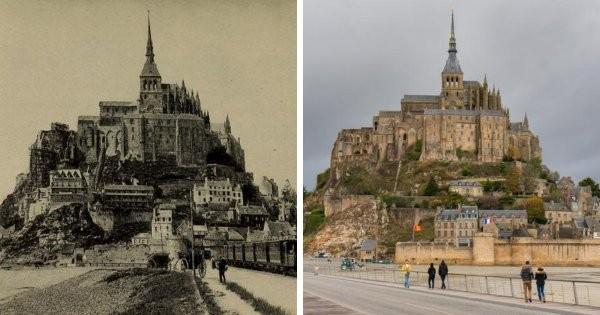 Тогда и сейчас: как менялись известные места нашей планеты в течение десятилетий (20 фото)