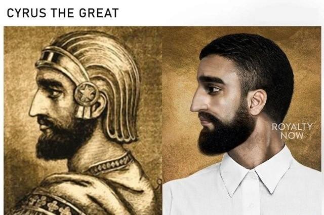Дизайнер Бекка Саладин представила, как бы выглядели известные исторические личности в наши дни (14 фото)
