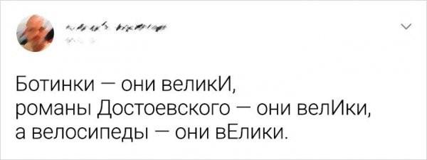 Немного юмора о русском языке (14 фото)