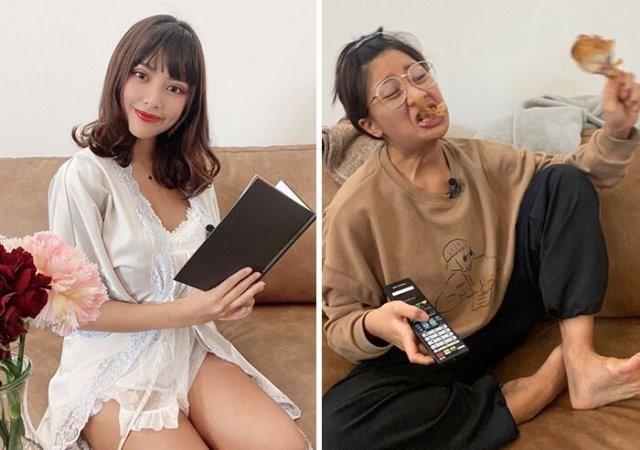 Модель Veinna из Таиланда показывает разницу между фото в социальных сетях и реальной жизни (15 фото)