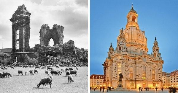 Известные сооружения до и после их реконструкции (12 фото)